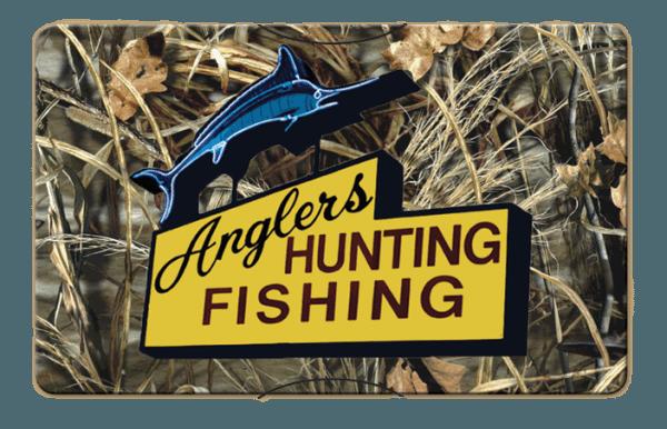 Anglers Hunting Fishing Gift Card