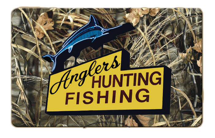 Anglers Hunting Fishing Gift Card
