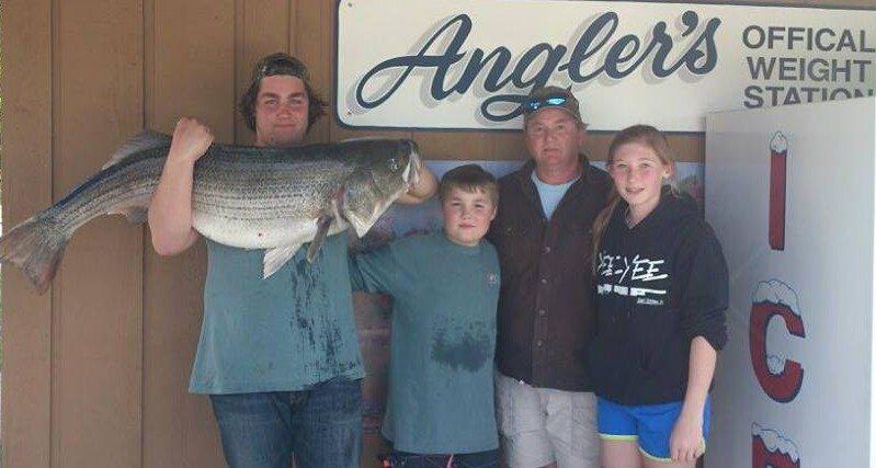 Angler's trophy rockfish