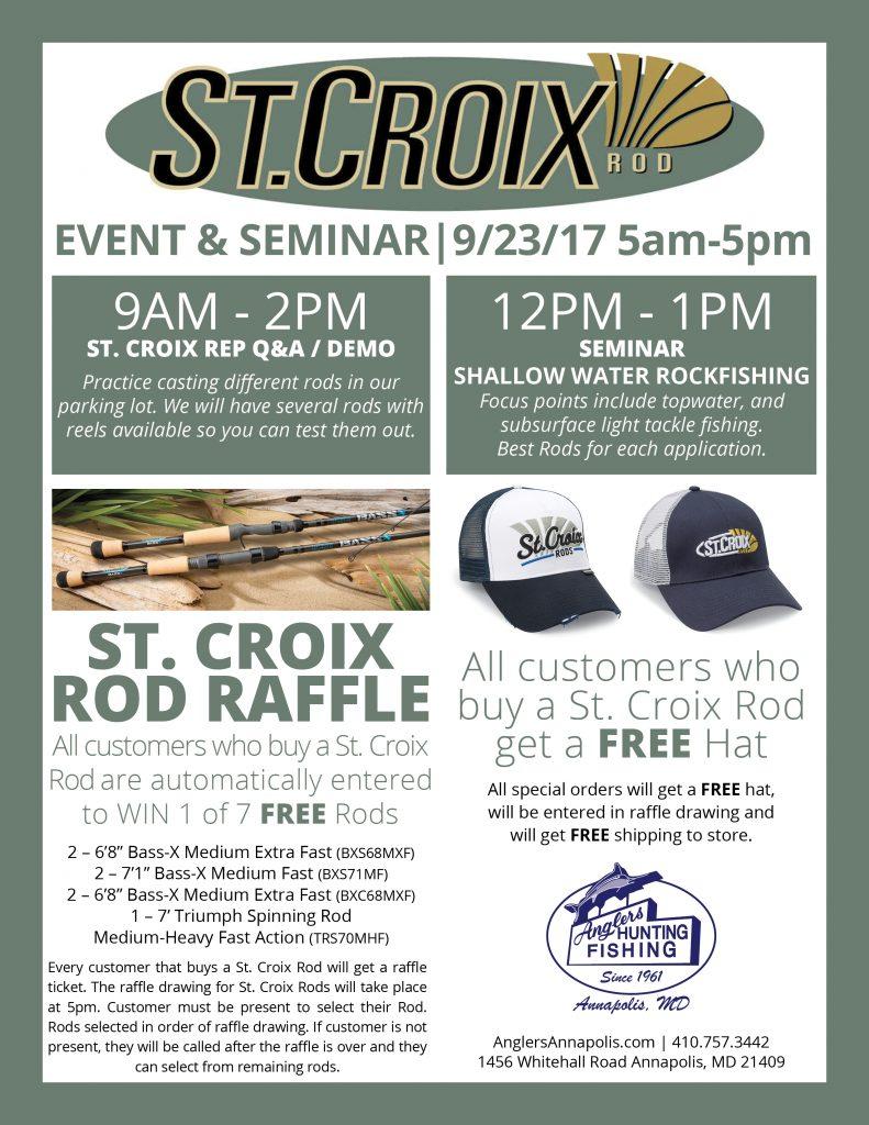 stcroix seminar flyer web anglers sport center