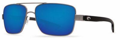 Costa Del Mar North Turn Gunmetal/Matte Black - Blue Mirror $219.00
