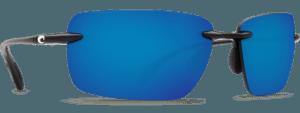 Costa Del Mar Gulf Shore Shiny Black - Blue Mirror $179.00