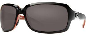 Costa Del Mar Isabella black/coral - Gray Lens $169.00