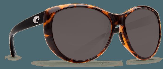 Costa Del Mar La Mar Retro Tortoise w/ Black Temples - Gray Lens $149.00
