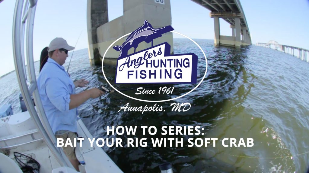How to rig soft crab