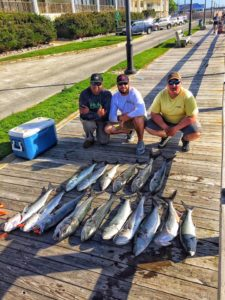 Bluefishing in Ocean City