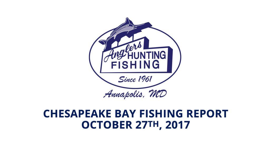 Chesapeake Bay Fishing Report - October 27th, 2017
