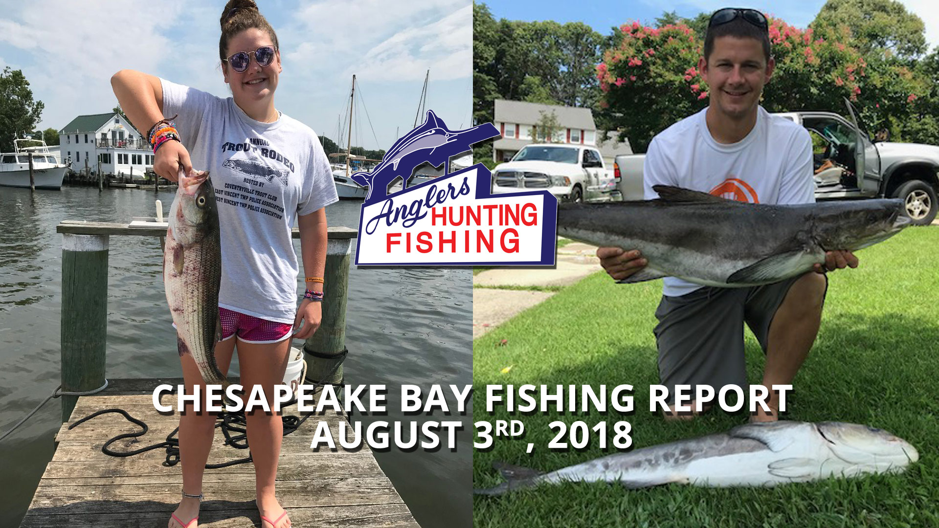 Chesapeake Bay Fishing Report - August 3rd, 2018