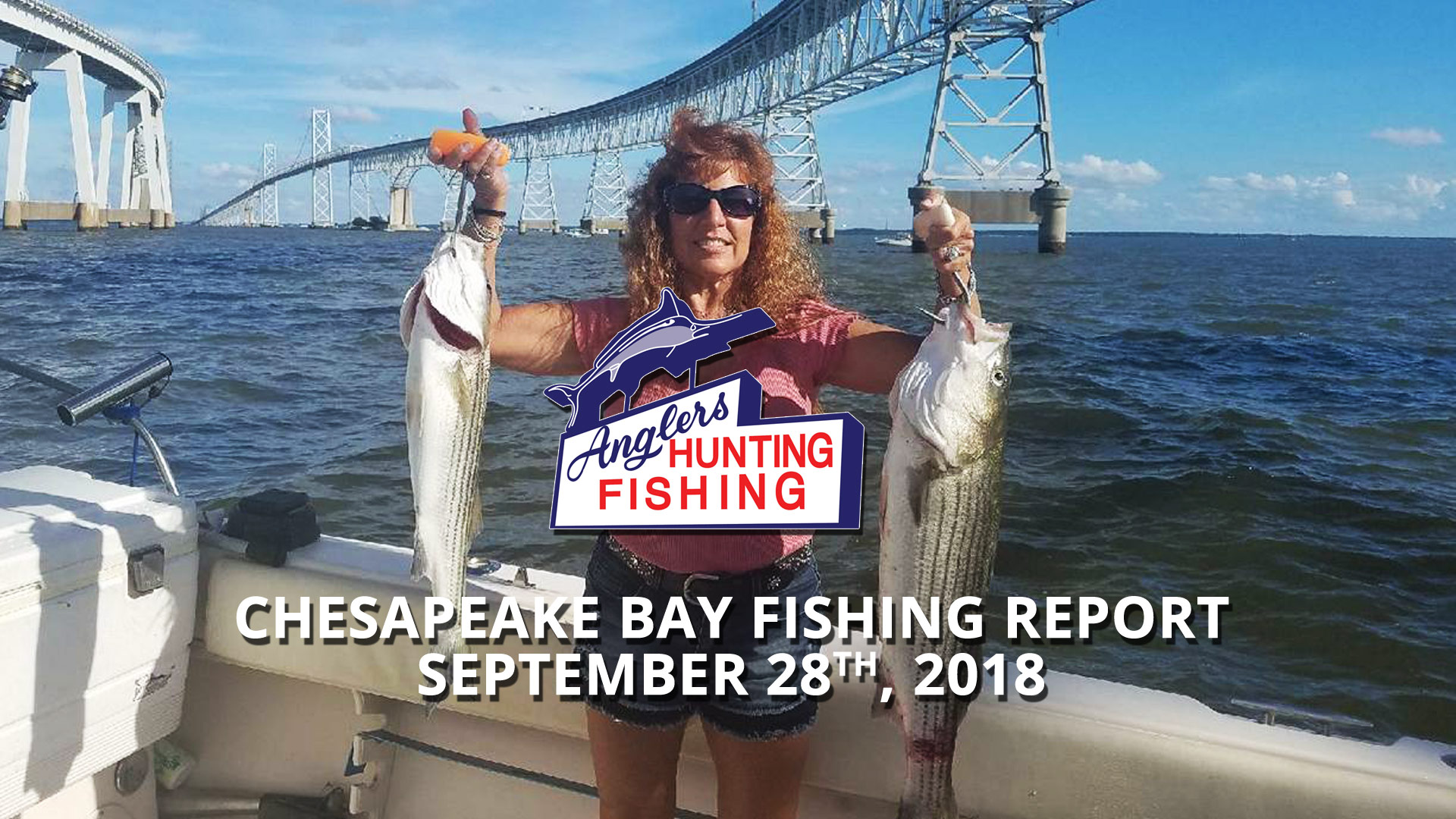 Chesapeake Bay Fishing Report - September 28th, 2018