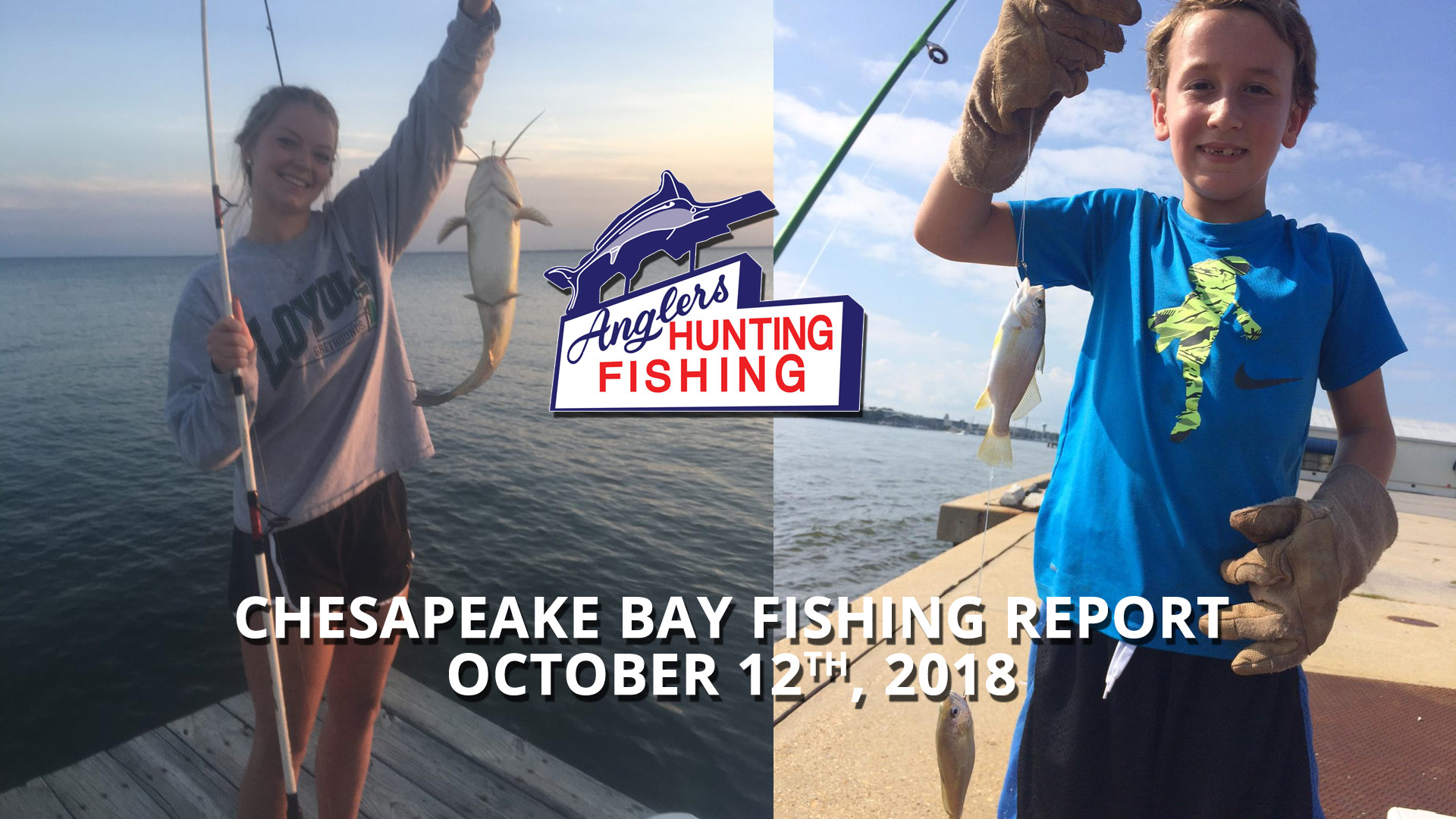 Chesapeake Bay Fishing Report - October 12th, 2018