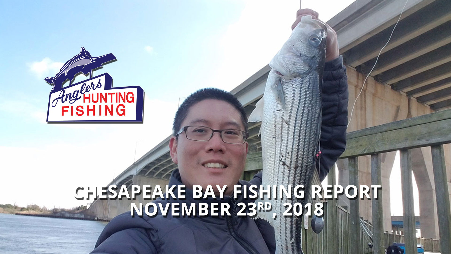 Chesapeake Bay Fishing Report - November 23rd, 2018