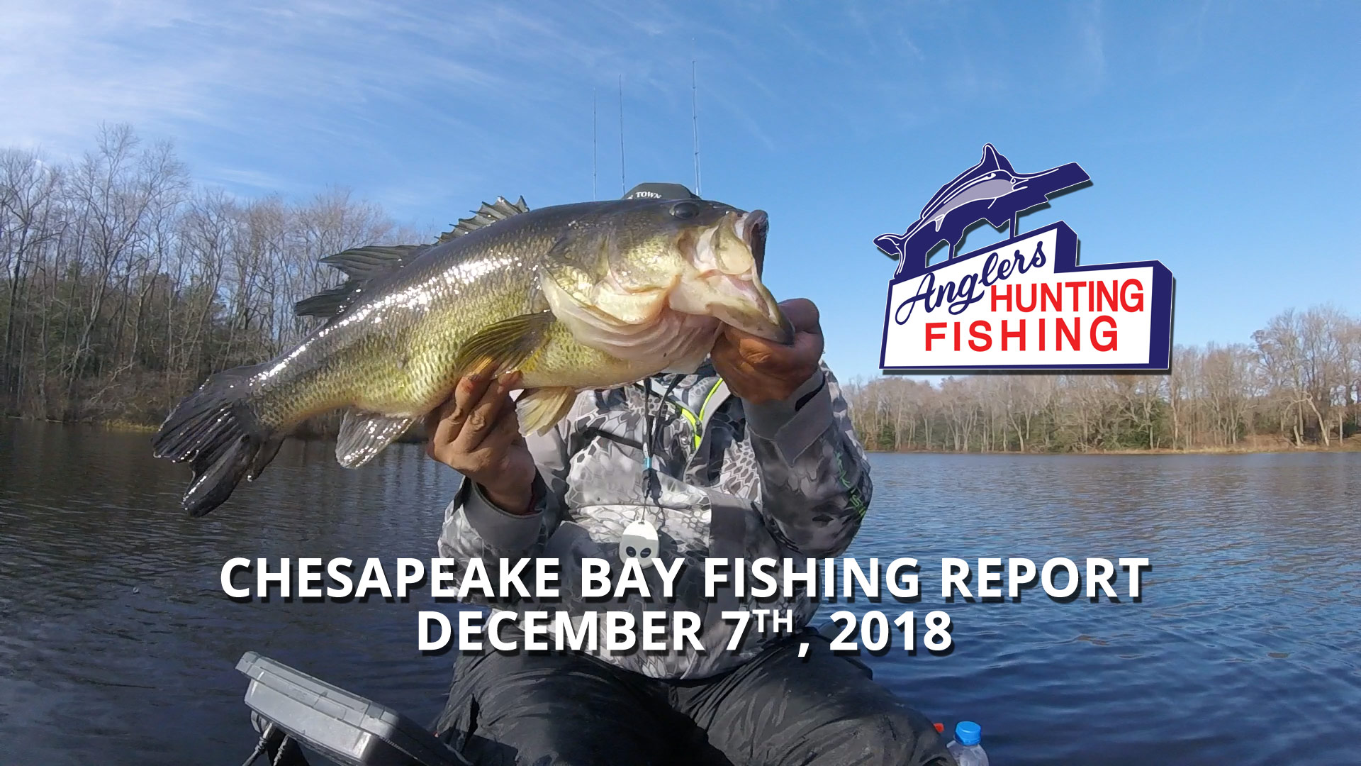 Chesapeake Bay Fishing Report - December 7th, 2018