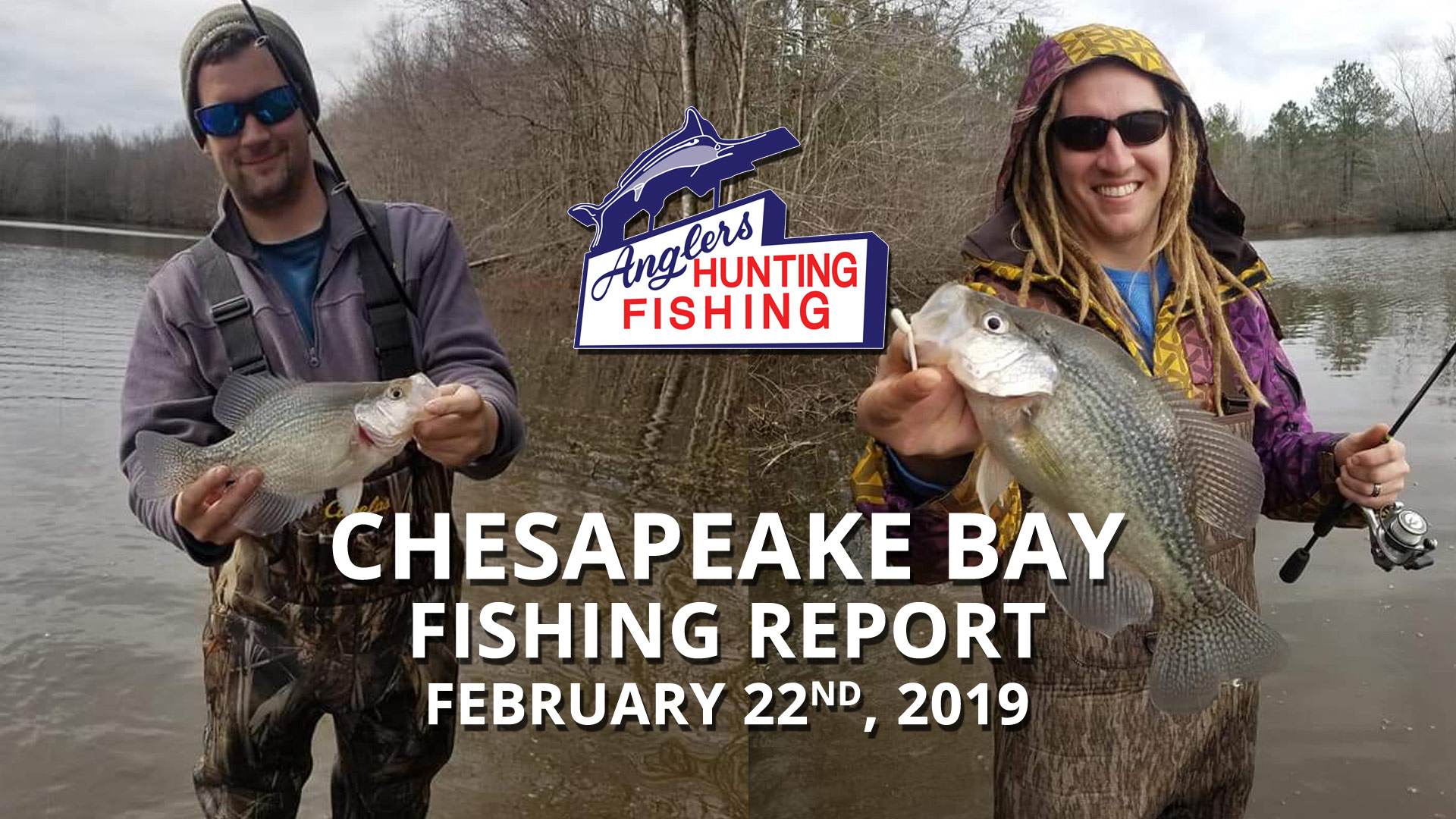 Chesapeake Bay Fishing Report - February 22nd, 2019