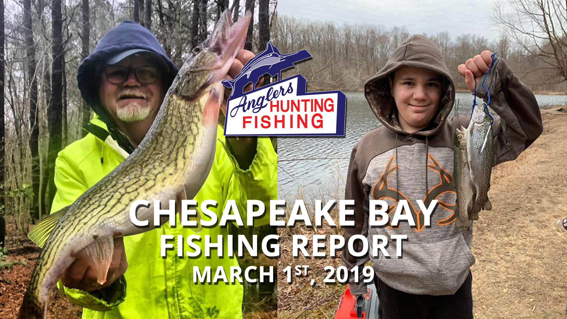 Chesapeake Bay Fishing Report - March 1st, 2019