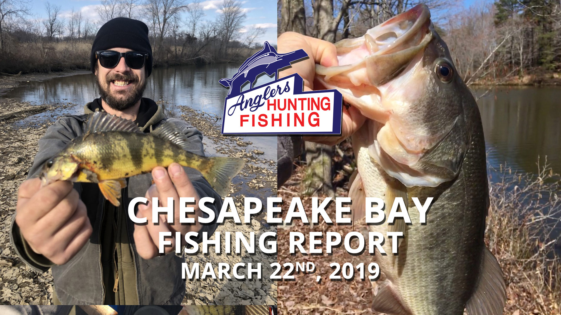 Chesapeake Bay Fishing Report - March 22nd, 2019