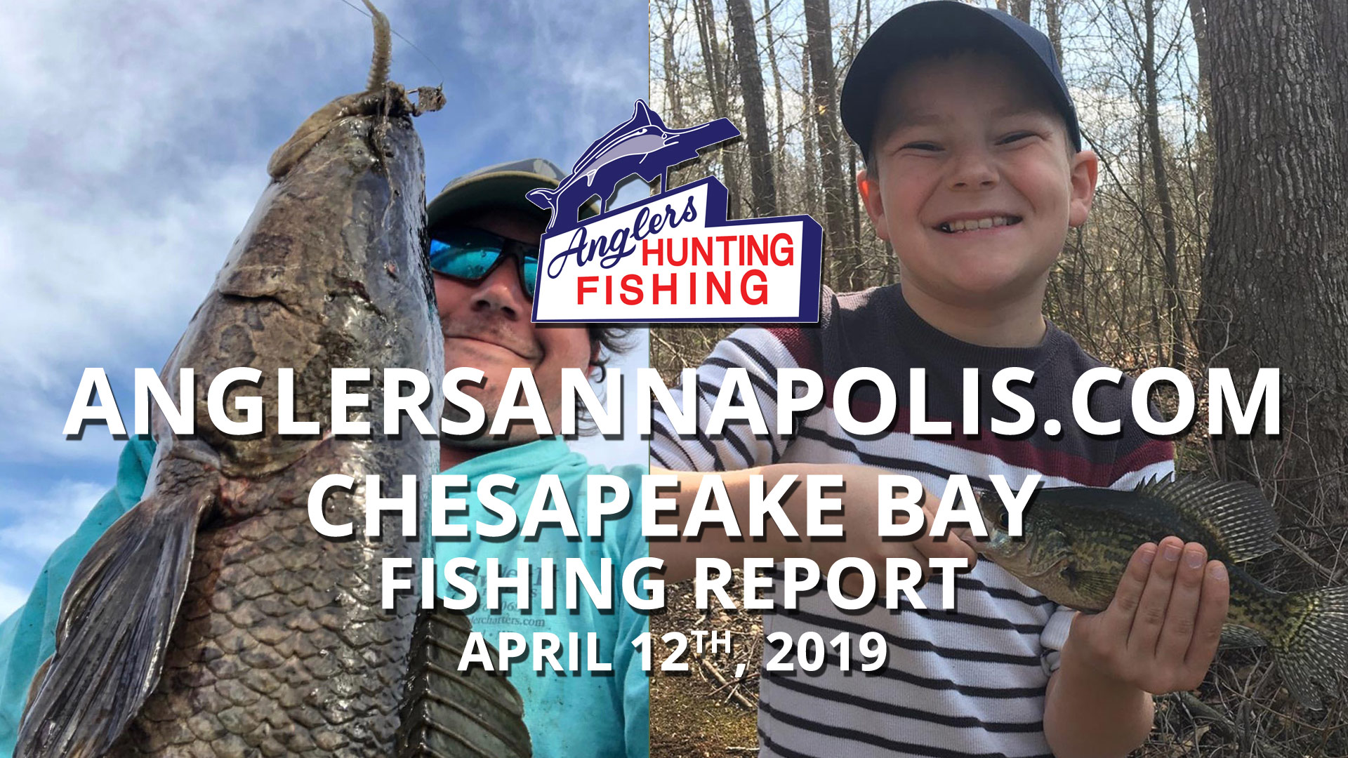 Chesapeake Bay Fishing Report - April 12th, 2019