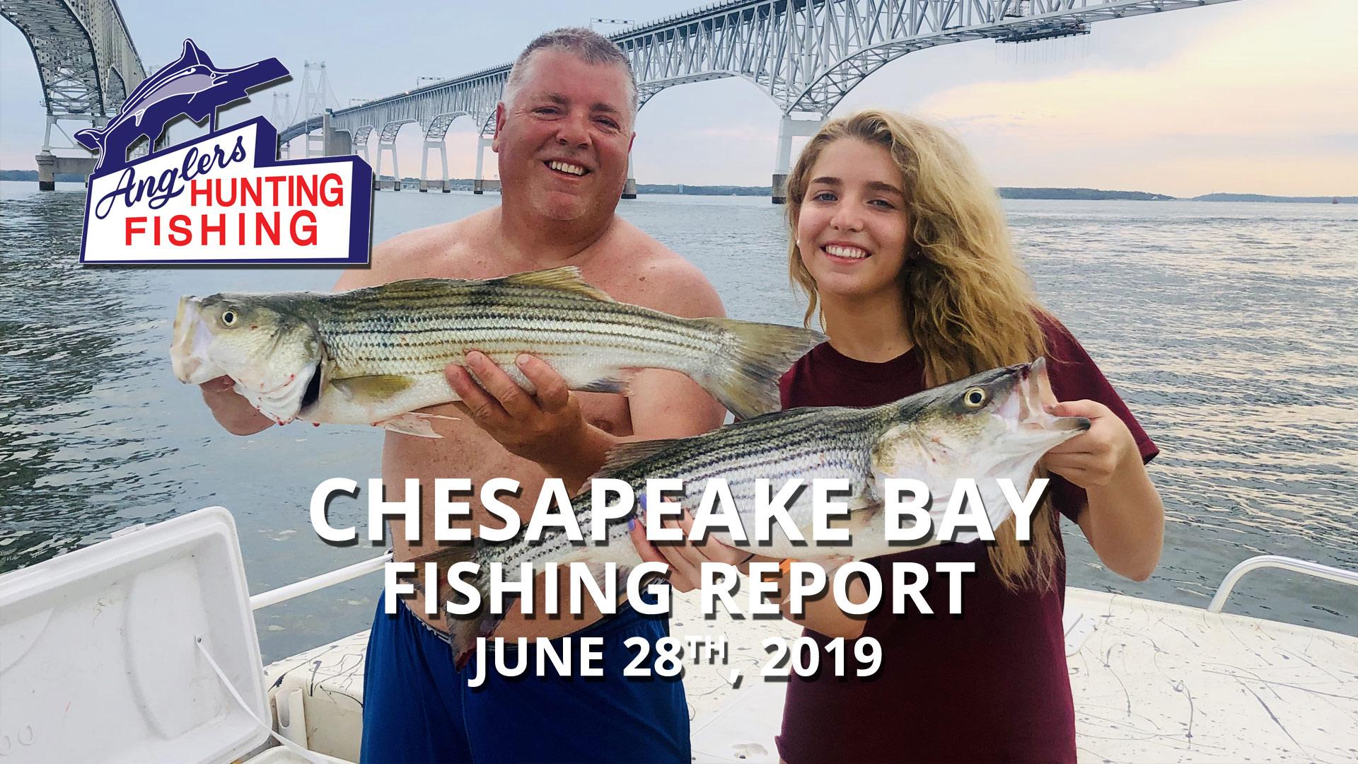 Chesapeake Bay Fishing Report - June 28th, 2019