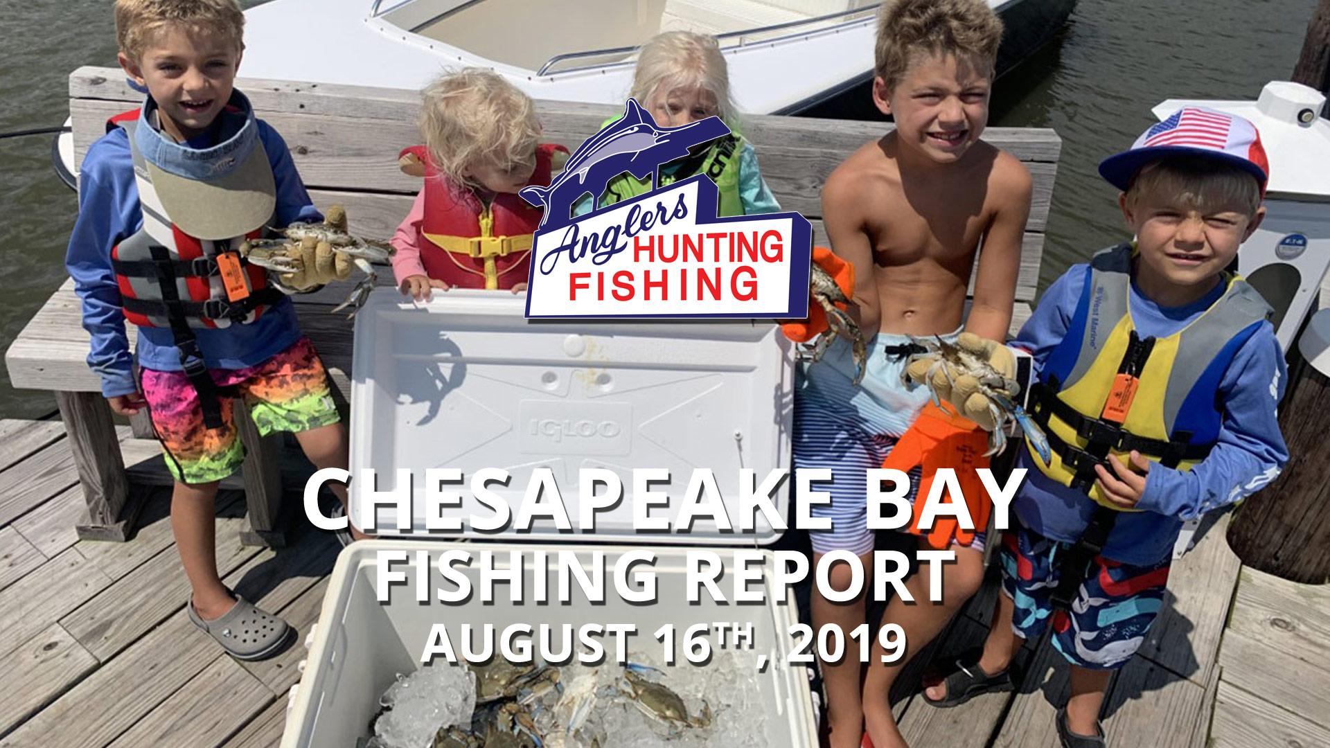 Chesapeake Bay Fishing Report - August 16th, 2019