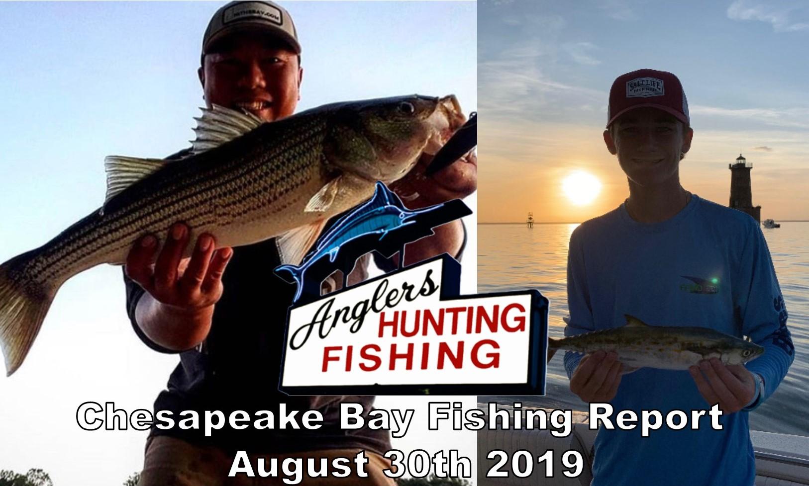 Chesapeake Bay Fishing Report-August 30th 2019