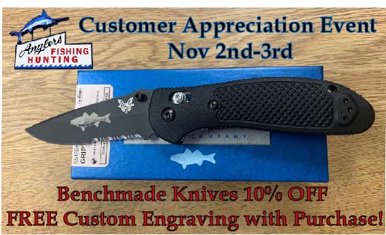 Customer Appreciation Benchmade Knife Engraving Preview