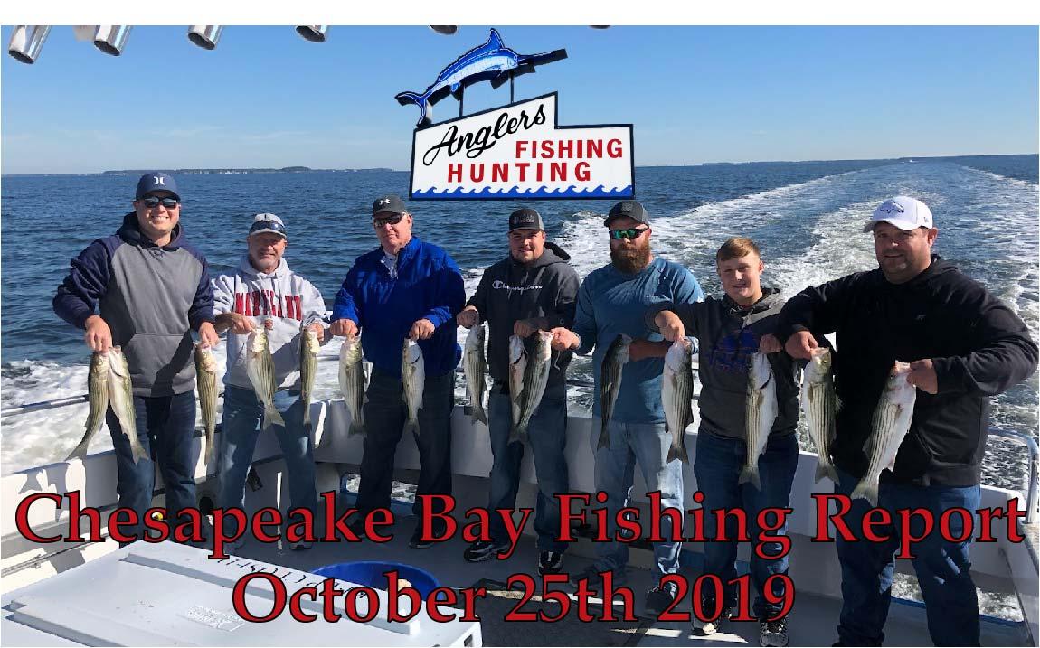 Chesapeake Bay Fishing Report- October 25th 2019