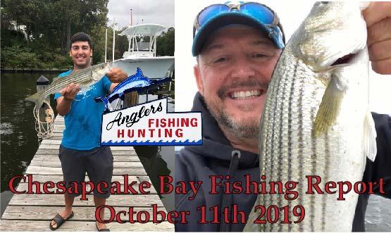 Chesapeake Bay Fishing Report- October 11th 2019